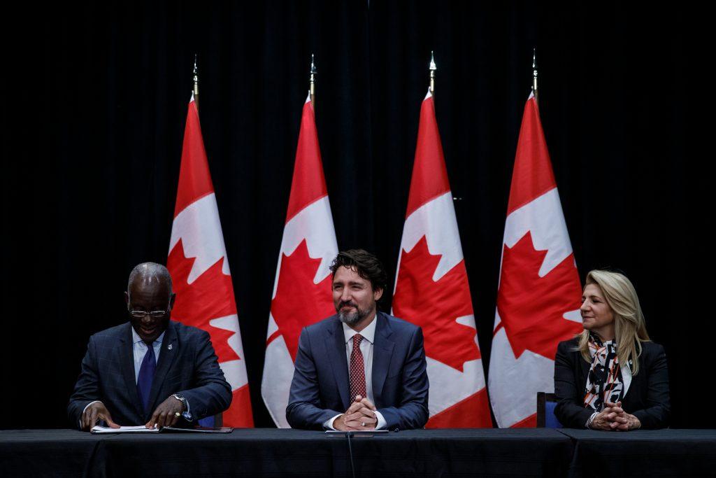 Pour 3 Points rencontre le premier ministre Justin Trudeau, janvier 2020