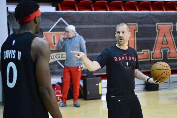 4 conseils d'un Coach en confinement: Charles Dubé-Brais, coach avec les Raptors 905