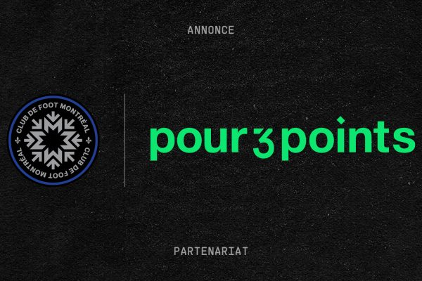 Pour 3 Points partners with CF Montréal